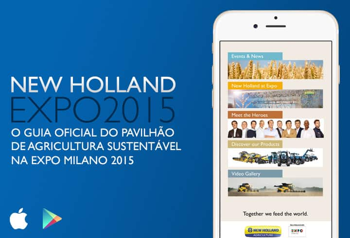 Aplicativo oficial New Holland Agriculture Expo Milano 2015