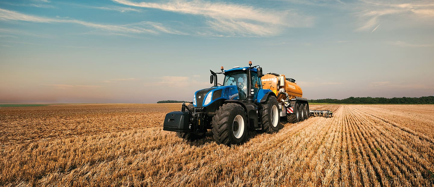 Clean Energy Leader New Holland Agriculture