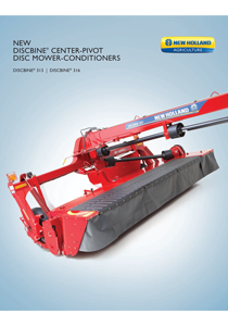 Discbine® Center-Pivot Disc Mower-Conditioners - Brochure