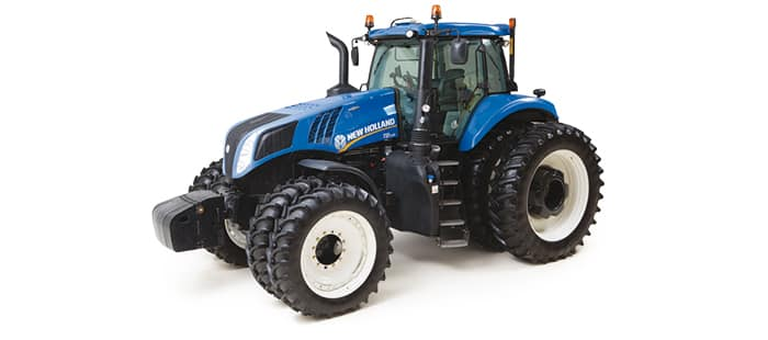 GENESIS® T8 SERIES TRACTORS <br> NOW, EVERYTHING IS POSSIBLE.