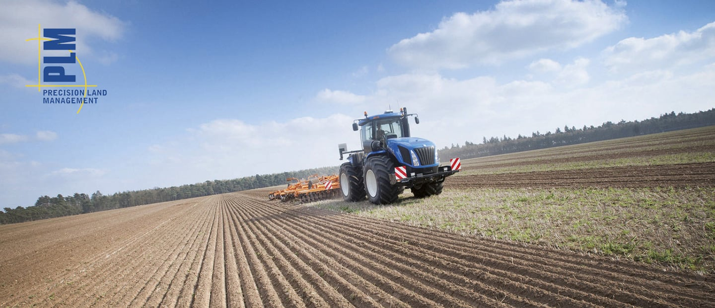 Precision Land Management New Holland Agriculture