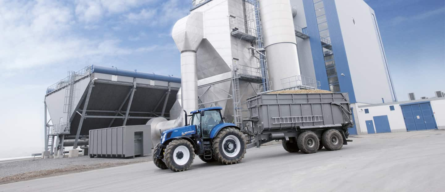 Biomass New Holland Agriculture