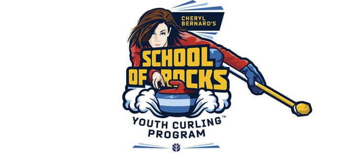 Cheryl Bernard's School of Rocks Youth Curling Camp