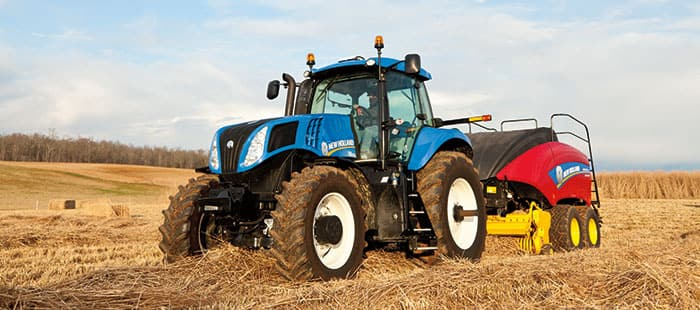 Not just any equipment can be called New Holland certified