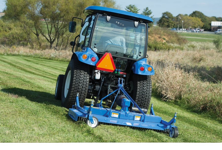 Rear-Mount Finish Mowers