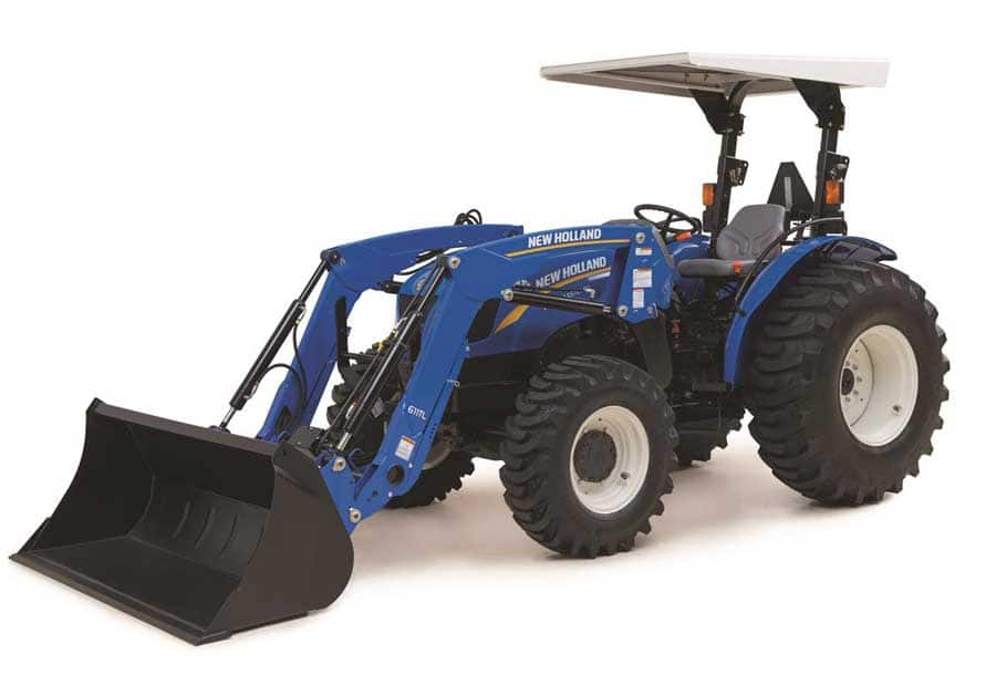 New Holland 75hp 4x4 Tractors : Workmaster™ utility series models tractors
