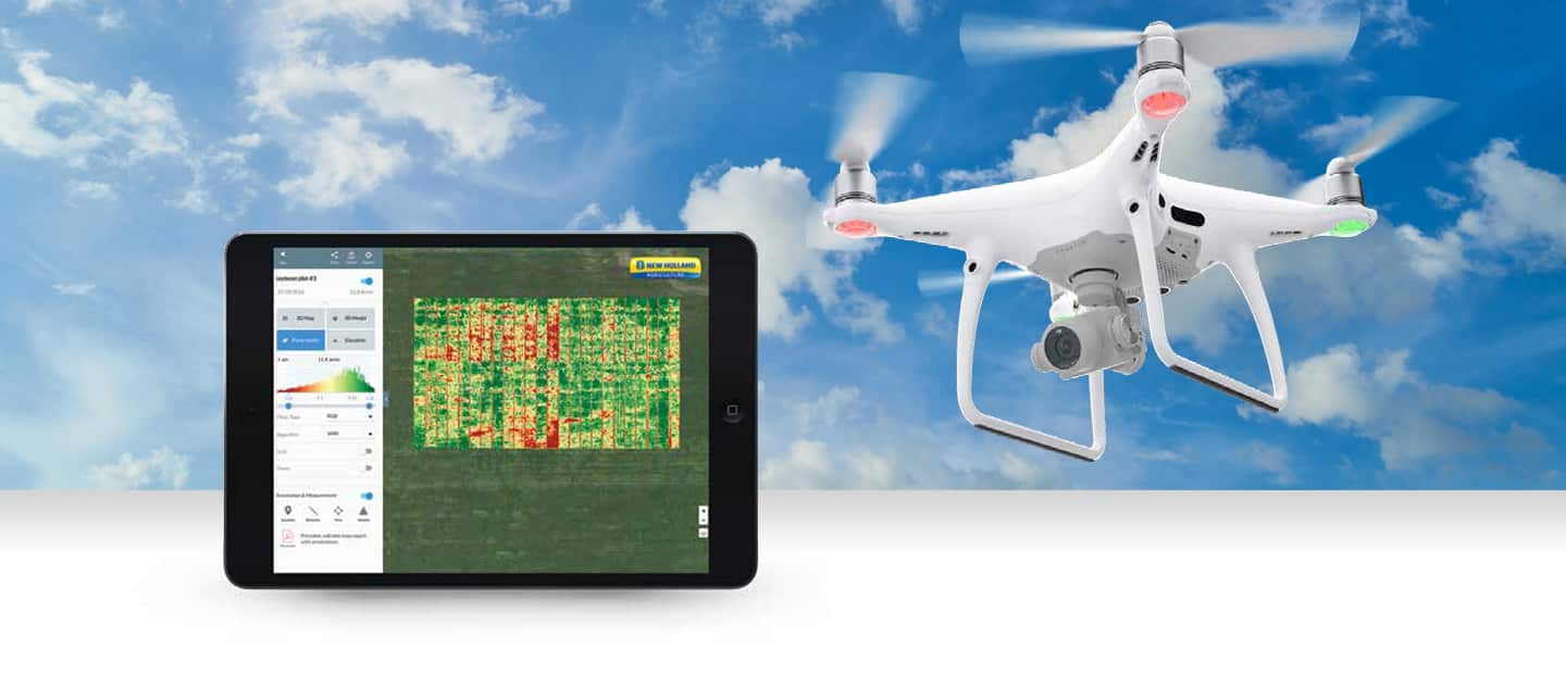 PLM™ Drone Data Management New Holland