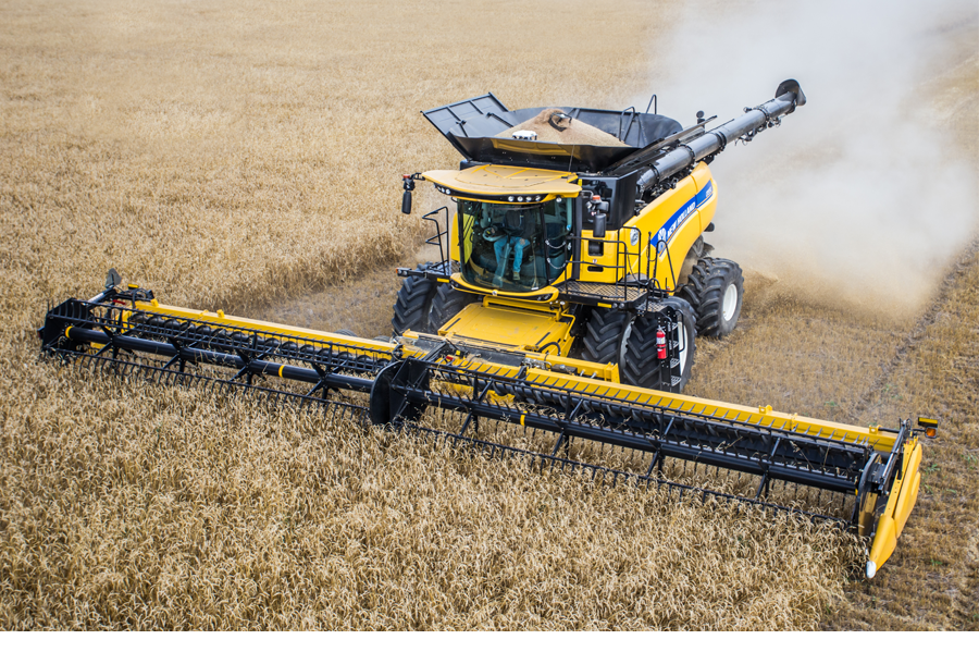 Combine Yield Mapping & Moisture Sensing