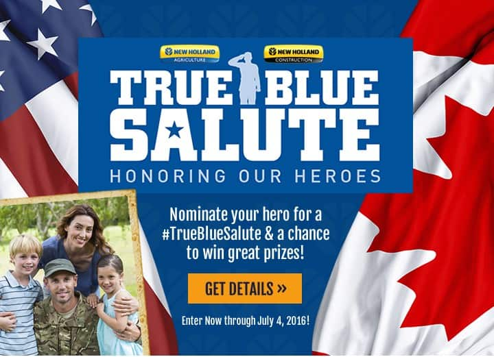 Salute a hero. Win great prizes.