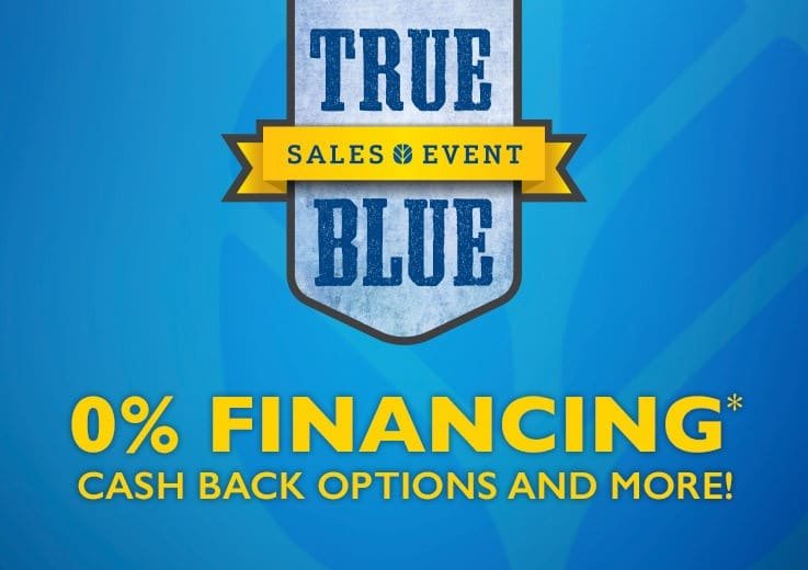 IT'S THE TRUE BLUE SALES EVENT