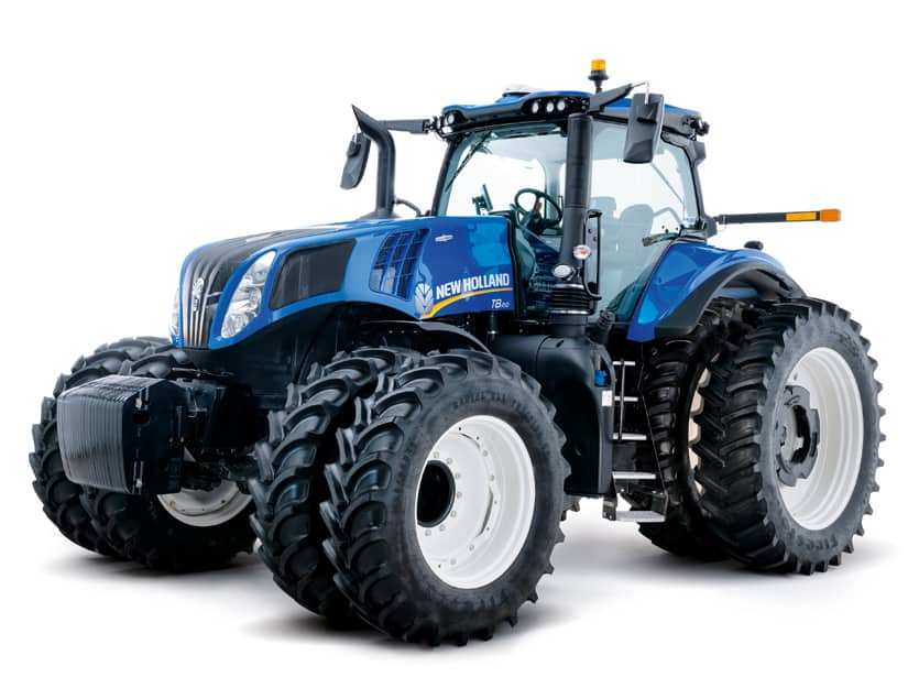 New Holland launches GENESIS® T8 Series tractor with PLM