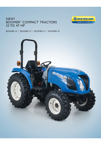 Boomer Series 33-47 HP - Brochure