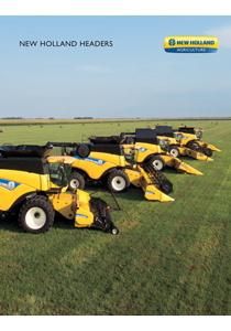 New Holland Combine Headers