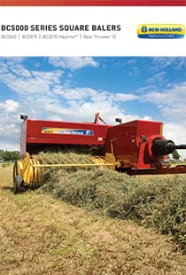 BC 5000 Small Square Balers - Brochure