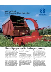 Crop Chopper® Flail Harvester - Brochure