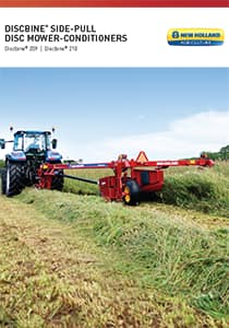 Discbine® 209/210 Side-Pull Disc Mower-Conditioners - Brochure