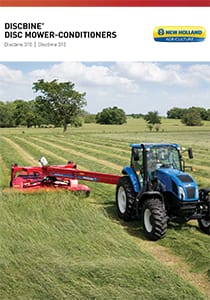 Discbine 310/312 Center-Pivot Disco Mowers - Brochure