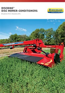 Discbine 313/316 Center-Pivot Disc Mower-Conditioners - Brochure