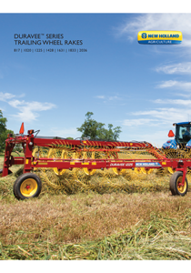 DuraVee™ Trailing Wheel Rakes - Brochure