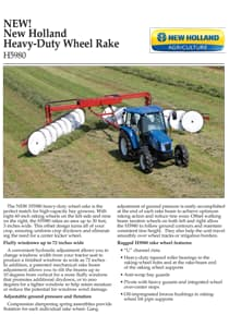 Heavy-Duty Wheel Rakes - Brochure
