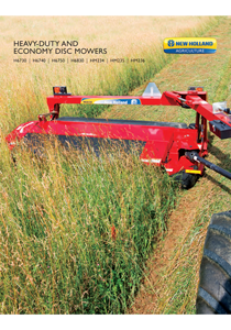 H6000 Series Heavy-Duty Disc Mowers - Brochure