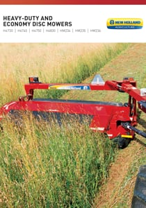 Heavy-Duty Disc Mowers - Brochure