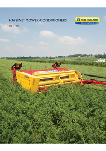 Haybine® Mower-Conditioners - Brochure