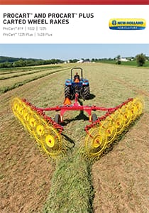 ProCart™ and ProCart™ Plus Deluxe Carted Wheel Rakes - Brochure