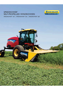 Speedrower® SP Windrowers Tier 4B - Brochure