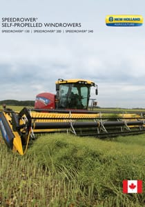 Speedrower® SP windrowers - Brochure