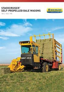 Stackcruiser® Self-Propelled Bale Wagons - Brochure