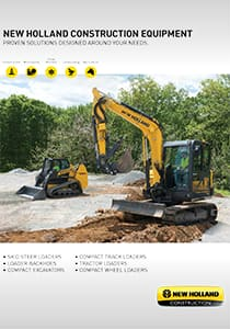 New Holland Construction Equipment - Brochure