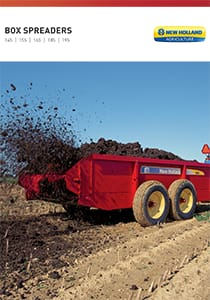 100 Series Box Spreaders - Brochure