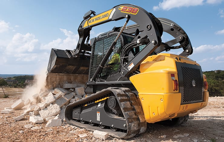 Compact Excavators Stabilizer