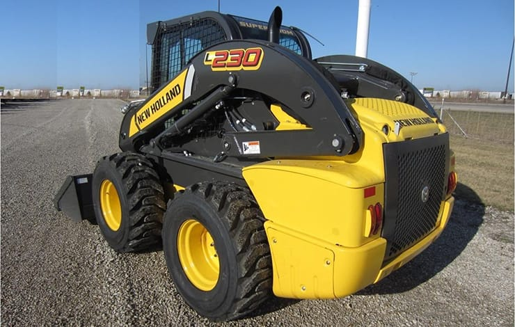 skid steer loaders l230 rh construction newholland com New Holland L230 vs John Deere New Holland L230 Skid Steer
