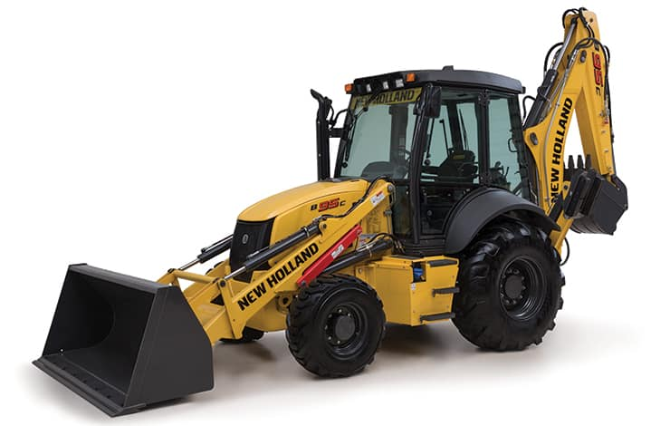 B95C Backhoe Loader