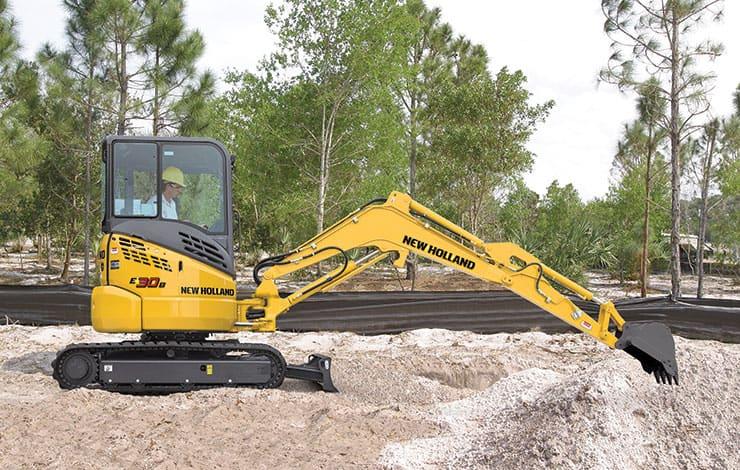 E30B Compact Excavator