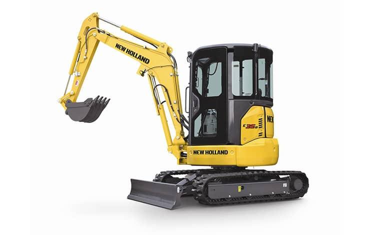 E35B Compact Excavator