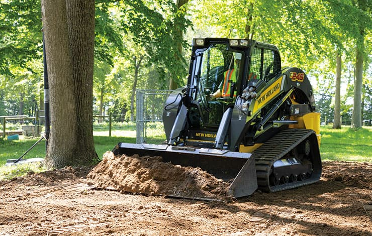 C245 Compact Track Loader