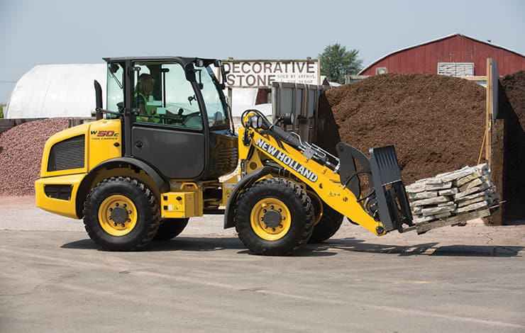 W50C TC Compact Wheel Loader