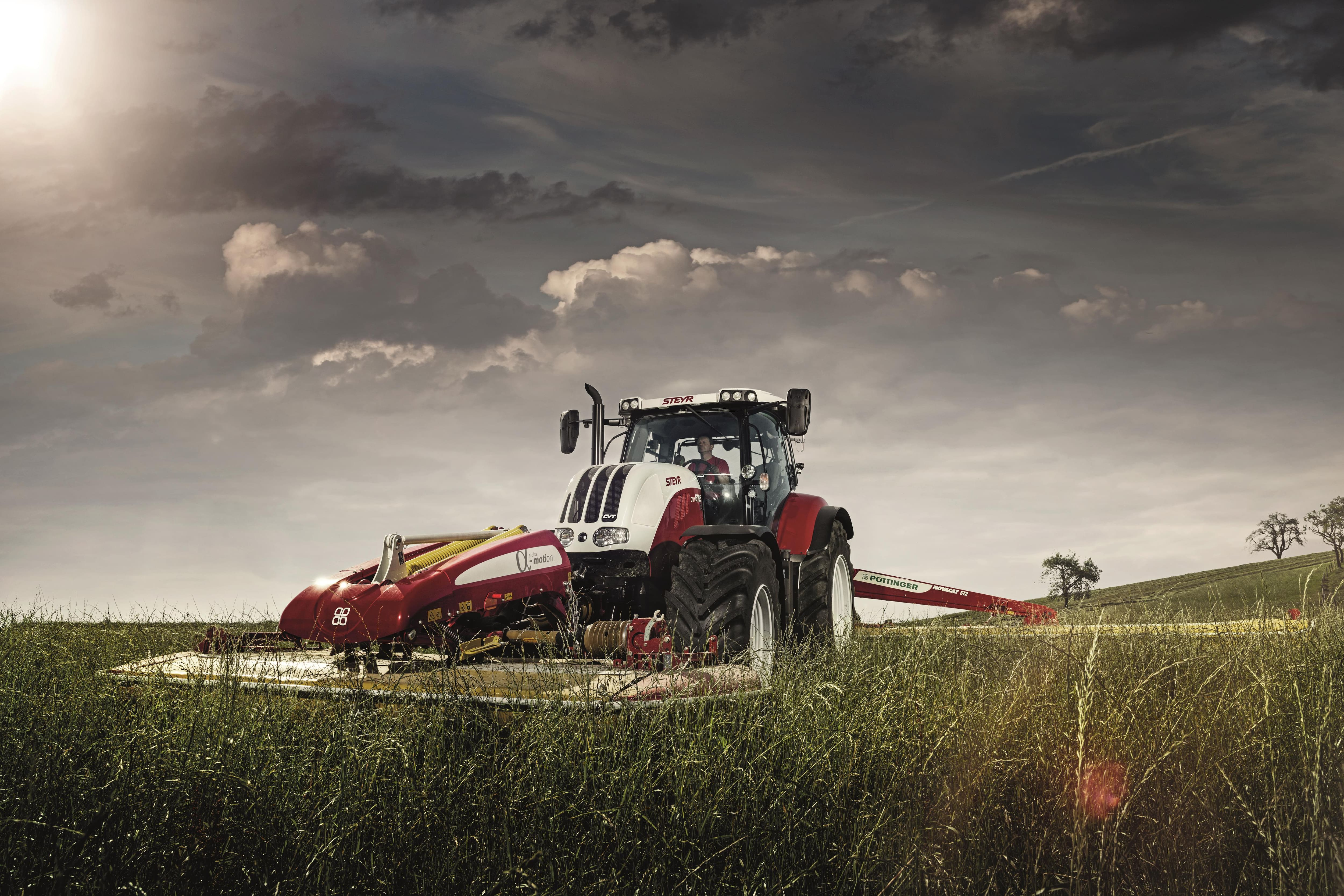 STEYR 22 STEYR KOMMUNAL ecotech Traktoren Prospekt