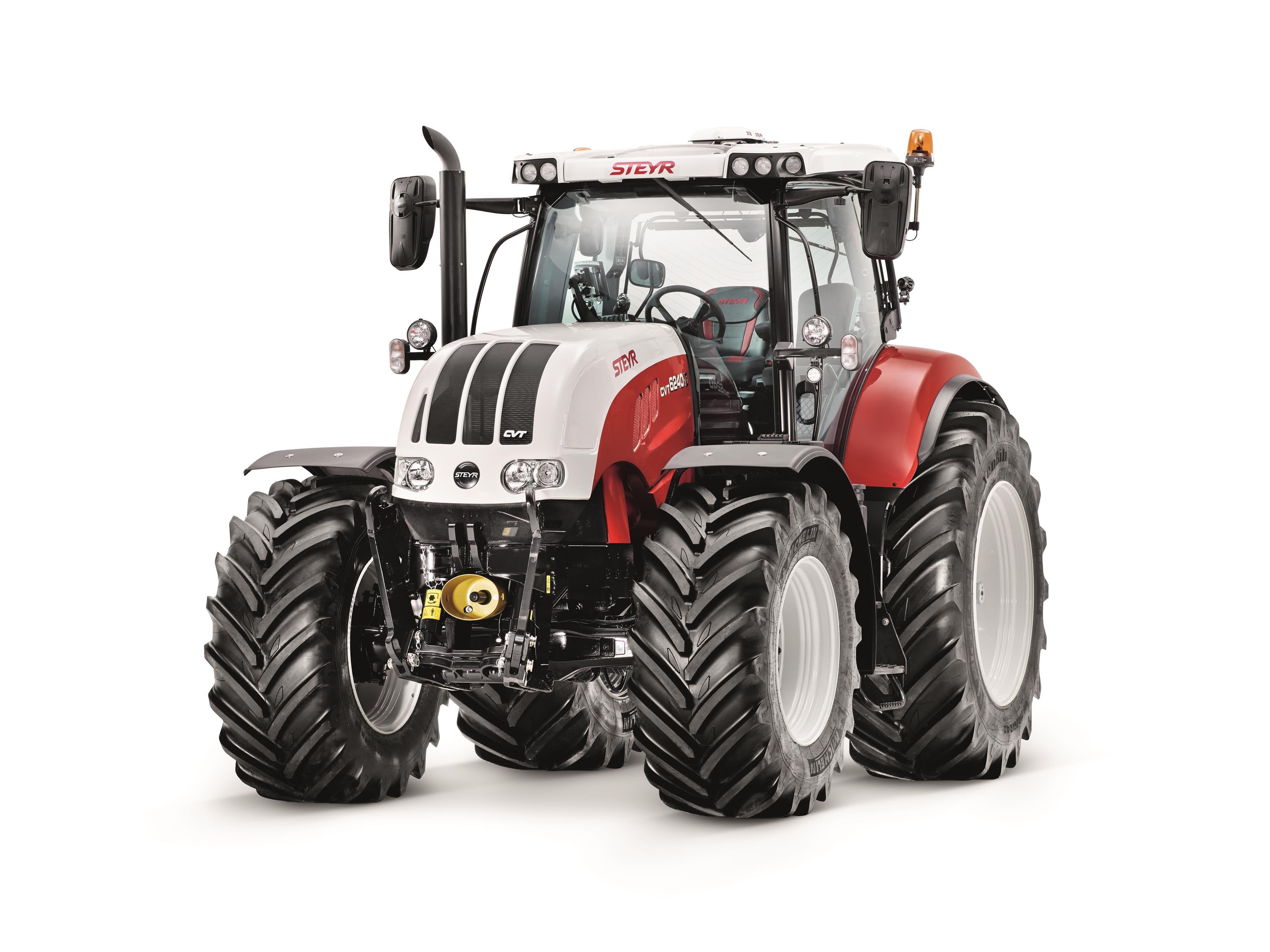 STEYR CVT | STEYR Traktoren