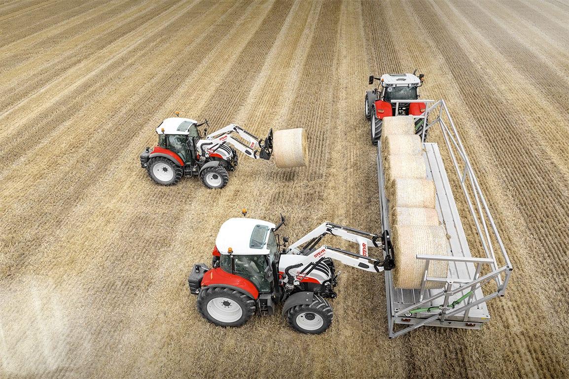 Frontlader steyr traktoren