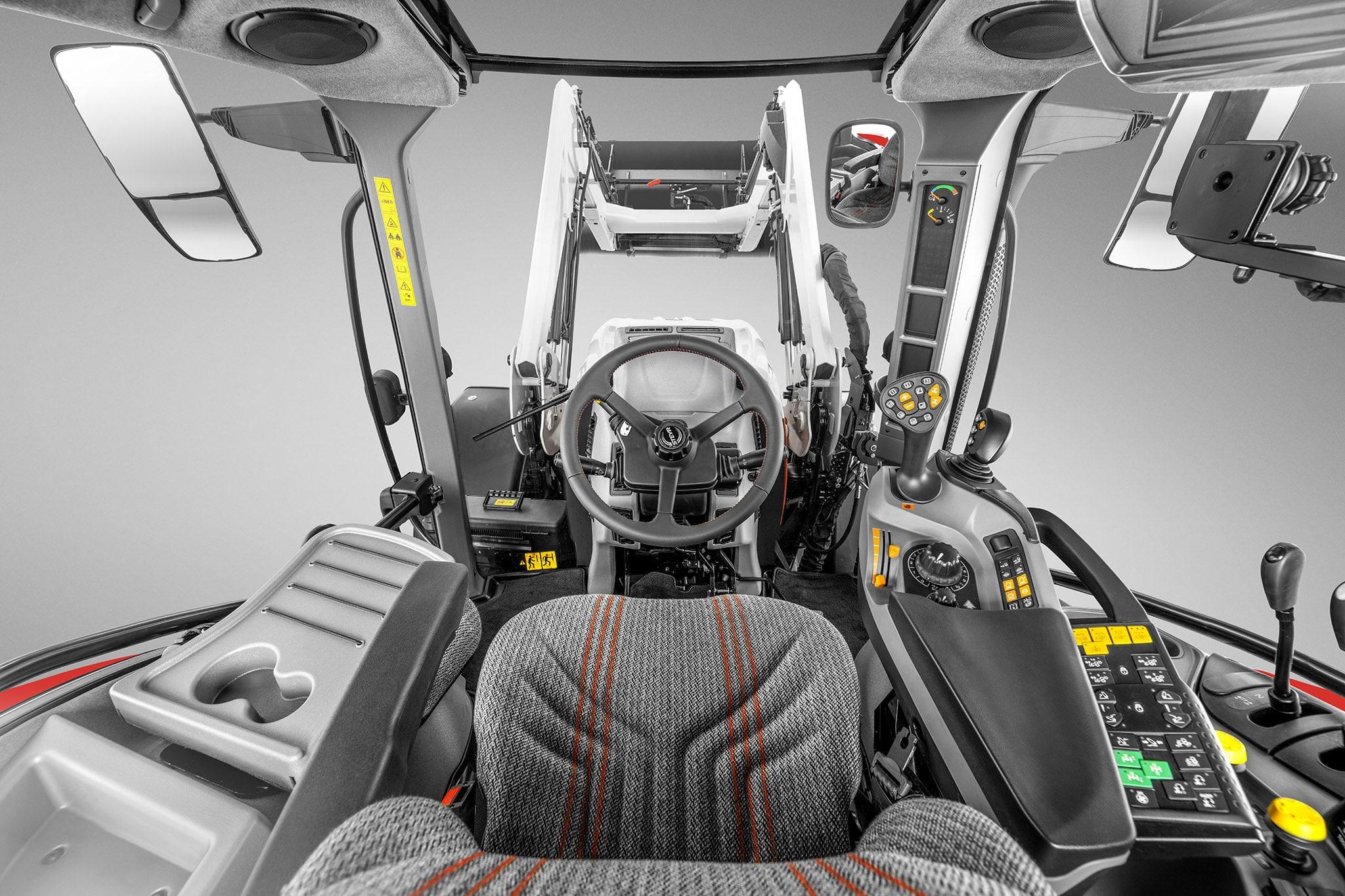 New Front-Loader Cab